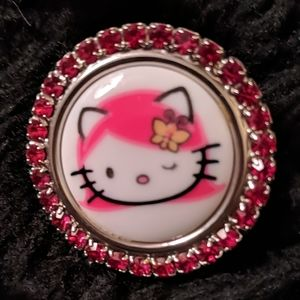 Tarino Tarantino Hello Kitty Ring New